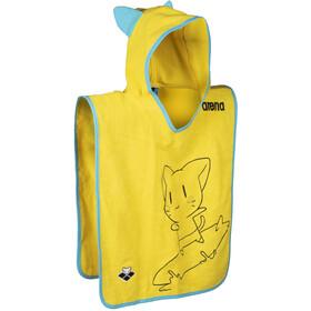 arena Friends Poncho S Kids yellow